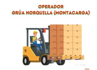 1.- Operador Grúa Horquilla (Montacargas).