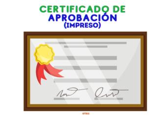 z. Diploma de Aprobación