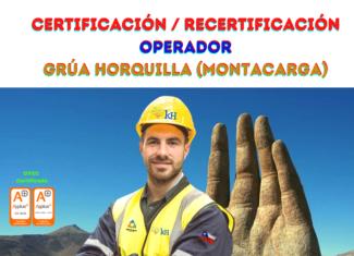 Certificación Operador Grúa Horquilla (Montacargas)