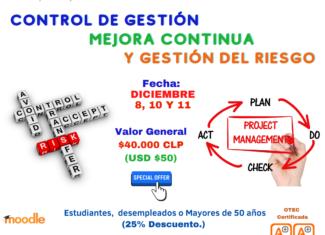 Control de Gestión, Mejora Continua y Gestión del Riesgo