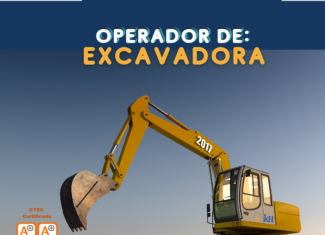 Curso Operador de Excavadora Hidráulica