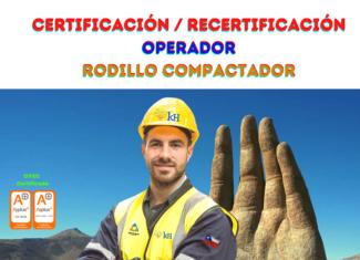 z. Certificación Operador de Rodillo Compactador