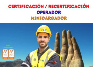 z. Certificación Operador de Minicargador