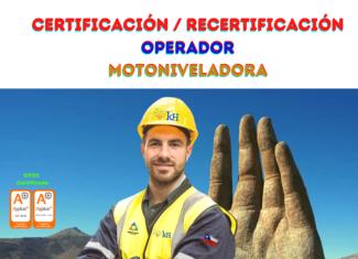 z. Certificación Operador de Motoniveladora
