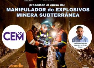 CEM Chile – Manipulador de Explosivos Minera Subterránea