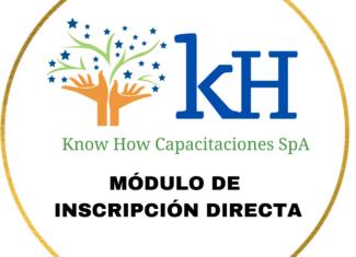 1. Matrícula/Inscripción Cursos Know How Capacitaciones